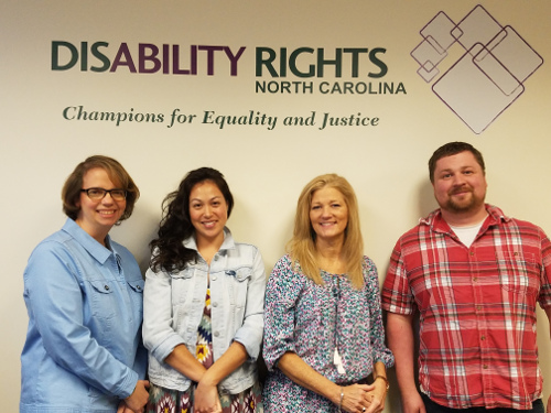 Disability Rights NC's New Board Members