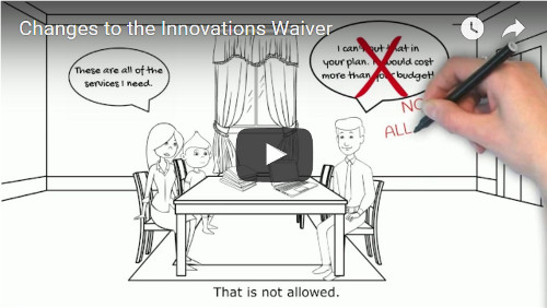YouTube Video on Innovations Waiver Changes
